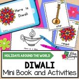 Diwali Emergent Reader and Activities: Holidays Around the World