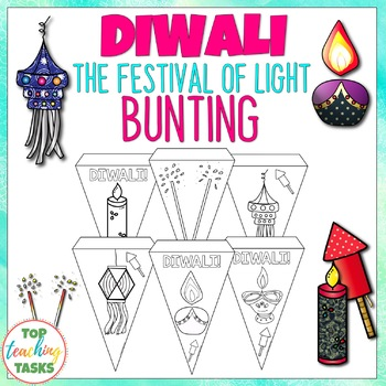 Diwali Festival of Lights Classroom Decor BUNTING