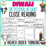 Diwali Festival of Lights Reading Comprehension Passages a