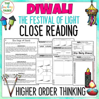 Diwali Reading Comprehension Passages and Questions