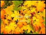 Fall Holiday-Grams