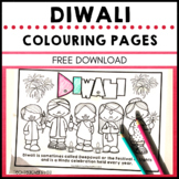 Diwali Holidays Around the World Colouring Pages Festival of Light