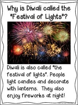 Diwali for Kindergarten & First Grade Holidays Around the World