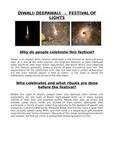 Diwali- Indian Festival of Lights