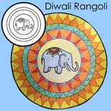 Diwali Craft – Make a Rangoli Pattern - Art Activity