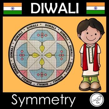 Diwali Math Art – Rotational Symmetry