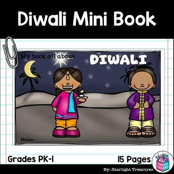 Diwali Mini Book for Early Readers - Christmas Activities