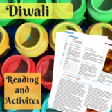 ★★Diwali Worksheets for High-School & ESL Students (Fall F