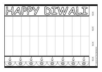 Diwali Craft  -  Paper lantern