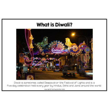 Diwali Photographic Information Slides for whole class discussion $1 DEAL