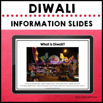 Diwali Photographic Information Slides Festival of Light