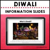 Diwali Holidays Around the World Information Slides Festival of Light