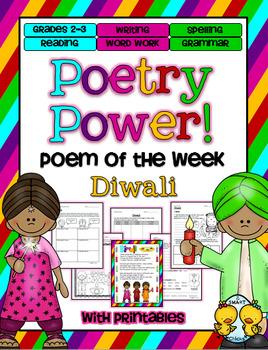 Diwali Poetry Power! Daily Literacy Practice
