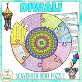 Diwali Activities | Reading Comprehension and Social Studies