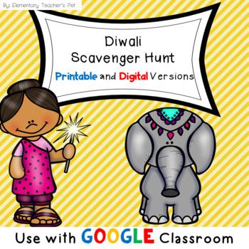 Diwali Scavenger Hunt
