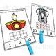 Diwali Ten Frame Task Cards