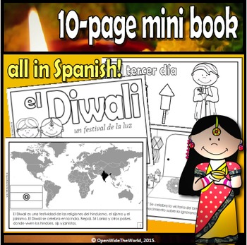 Diwali - The Festival of Light / El Festival de la Luz - in Spanish