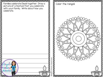 Diwali Themed Activity Booklet