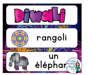 Diwali Themed Activity Booklet in French