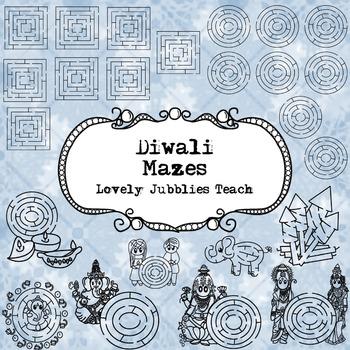 Diwali Themed Mazes