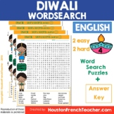 Diwali Word Search - Diwali Activity - Festival of Lights