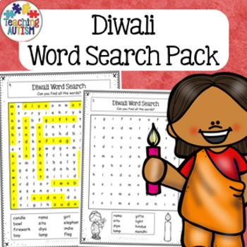 Diwali homework for kindergarten