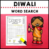 Diwali Holidays Around the World Word Search Festival of Light
