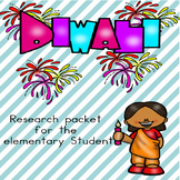 Diwali packet/research for elementary students