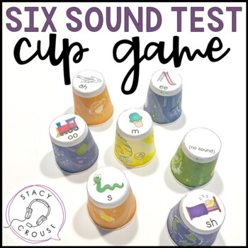 Six Sound Test Cup Game for Children with Hearing Loss