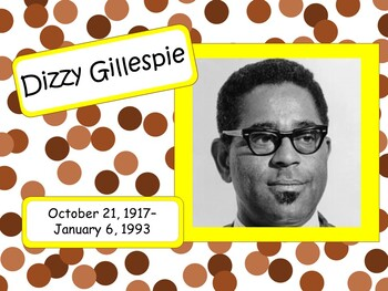 Dizzy Gillespie: Musician in the Spotlight