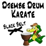 Djembe Drum Karate, Black Belt - An African Drumming Curriculum