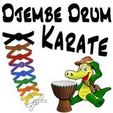 Djembe Drum Karate ~BUNDLE~ An African Drumming Curriculum