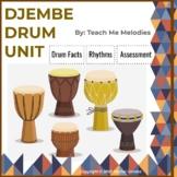 Djembe Drum Unit