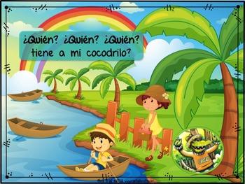 """¿Dónde Está COCO mi Cocodrilo? – Songbook Mp3 Digital Download, """"WH"""" Questions"""