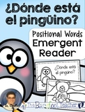 ¿Dónde está el pingüino? Positional Words Emergent Reader
