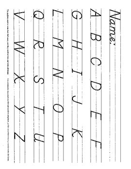 D'nealian Handwriting Practice All Letters & Numbers