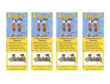 Dneirf Bookmarks