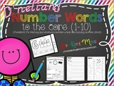 D'nelian Number Word Printables for 1-10
