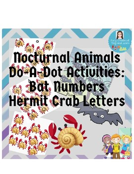 Do-A-Dot Activities:  Penguin Letters and Owl Numbers