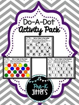 Do A Dot Activity Pack