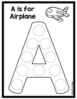 Do-A-Dot Alphabet Worksheets