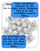 Do-A-Dot, Bingo Marker Activity, Dolch Primer Sight Words Snowflake Worksheets