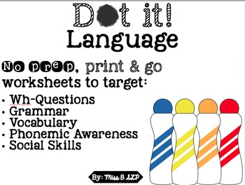 Dot it! Language Pack