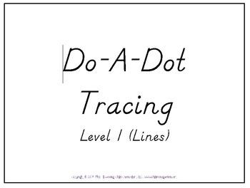 Do-A-Dot Level 1 - Lines