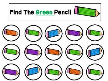 Do A Dot Marker Color Find Worksheets
