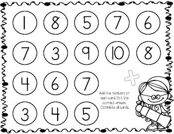 Dot Marker Fun! Dot Marker Math and Literacy Centers