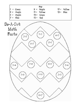 Do-A-Dot Math Facts 3