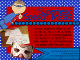 Do-A-Dot Superhero Speech Masks for Articulation! NO PREP!