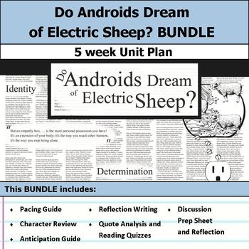 Do Androids Dream of Electric Sheep? Unit Bundle