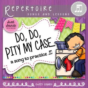 Do, Do Pity My Case - Rhythm & Improvisation Practice Pack